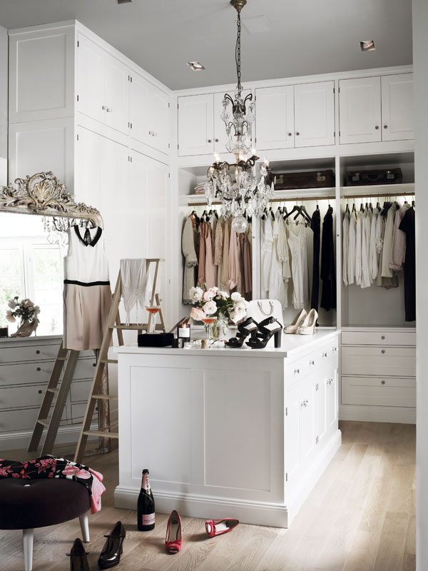 Un dressing perfect. www.interiormagasinet.hegnar.no