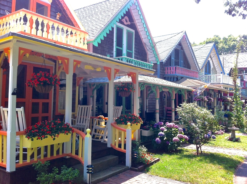 Oak Bluffs Gingerbread Cottages